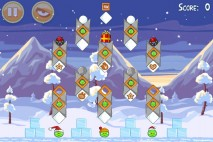Angry Birds Seasons Wreck the Halls Level 1-8 Walkthrough