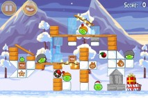 Angry Birds Seasons Wreck the Halls Level 1-9 Walkthrough