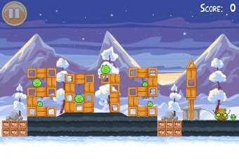 Angry Birds Seasons Wreck the Halls Golden Egg #29 Walkthrough