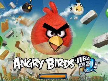 Angry Birds Vuela Tazos Loading Screen