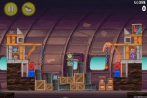 Angry Birds Rio Smugglers Plane Level 12-13