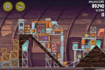 Angry Birds Rio Smugglers Plane Level 12-14