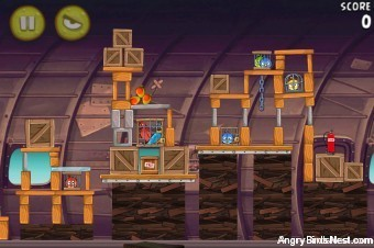 Angry Birds Rio Mango #9 Walkthrough Level 18 (12-3)