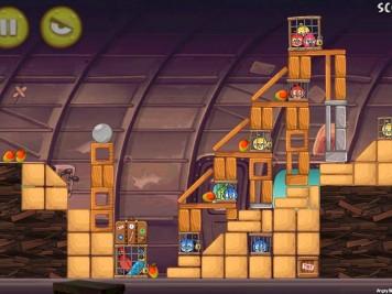 Angry Birds Rio Smugglers Plane Level 12-5