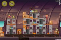 Angry Birds Rio Smugglers Plane Level 12-6