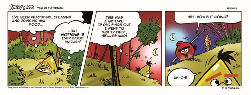 the strip Chasing dragon cartoon