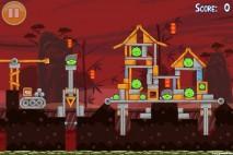 Angry Birds Seasons Year of the Dragon Golden Egg #31 Walkthrough