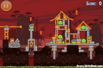 Angry Birds Seasons Year of the Dragon Golden Egg #31 Walkthrough
