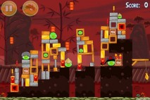 Angry Birds Seasons Year of the Dragon Level 1-11 Walkthrough
