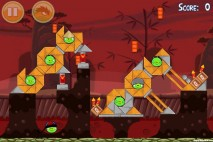 Angry Birds Seasons Year of the Dragon Level 1-12 Walkthrough