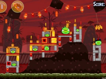 Angry Birds Seasons Year of the Dragon Level 1-15