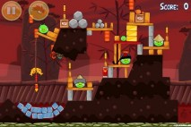 Angry Birds Seasons Year of the Dragon Level 1-2 Walkthrough