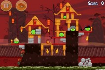 Angry Birds Seasons Year of the Dragon Level 1-3 Walkthrough