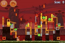 Angry Birds Seasons Year of the Dragon Level 1-4 Walkthrough