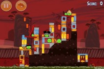 Angry Birds Seasons Year of the Dragon Level 1-5 Walkthrough