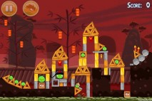 Angry Birds Seasons Year of the Dragon Level 1-9
