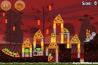 Angry Birds Seasons Year of the Dragon Level 1-9 Walkthrough