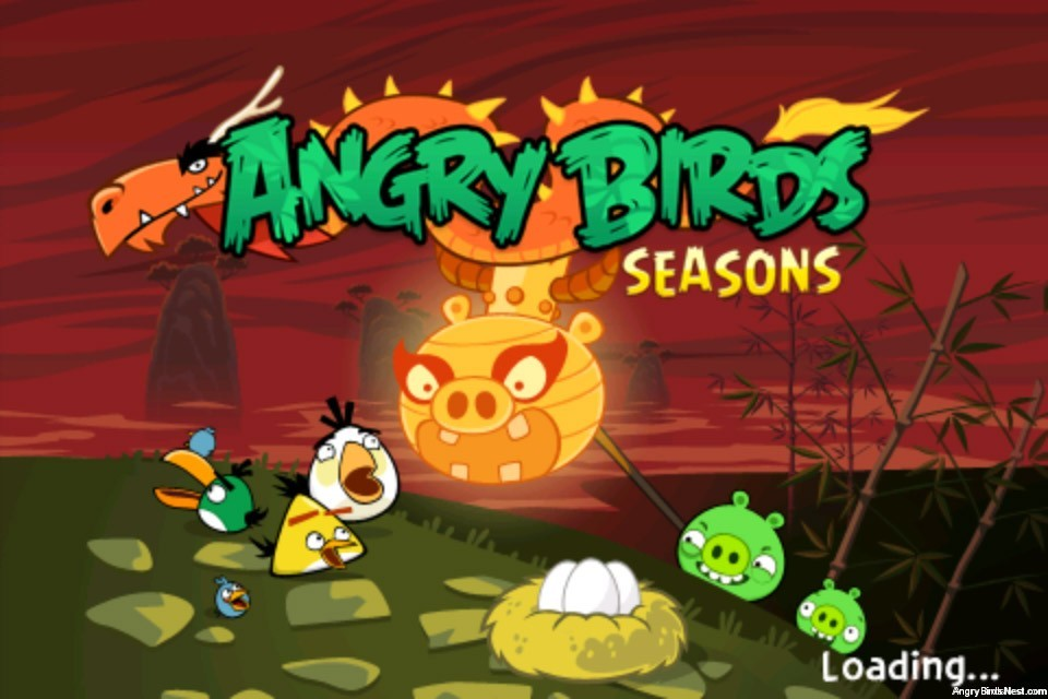 Angry Birds Seasons Year Of The Dragon Update Out Now