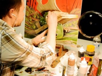 Making of the Year of the Dragon Animation Painting