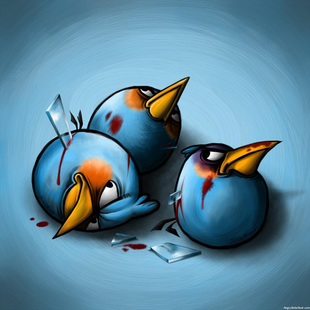 Blue Birds by Scooterek