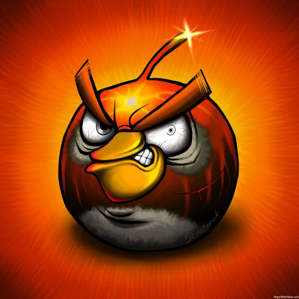 Bomb Bird by Scooterek