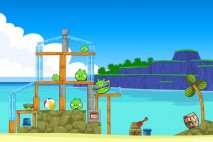 Angry Birds Surf and Turf Level 11 Walkthrough