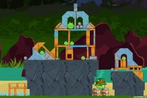 Angry Birds Facebook Surf and Turf Level 23 Walkthrough
