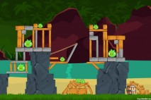 Angry Birds Surf and Turf Level 29 Walkthrough