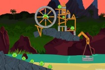 Angry Birds Facebook Surf and Turf Level 30 Walkthrough