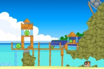 Angry Birds Surf and Turf Level 6 Walkthrough