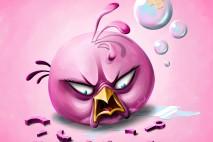 Pink Bird by Scooterek