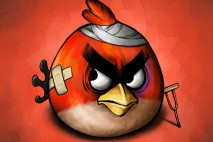 Red Bird by Scooterek