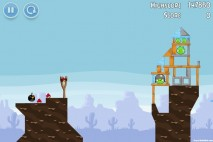 Angry Birds Vuela Tazos Level 1 Walkthrough