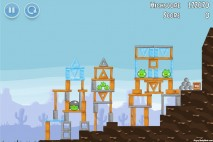 Angry Birds Vuela Tazos Level 2 Walkthrough