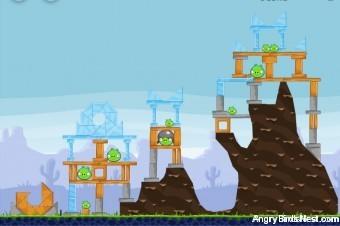 Angry Birds Vuela Tazos Level 3 Walkthrough