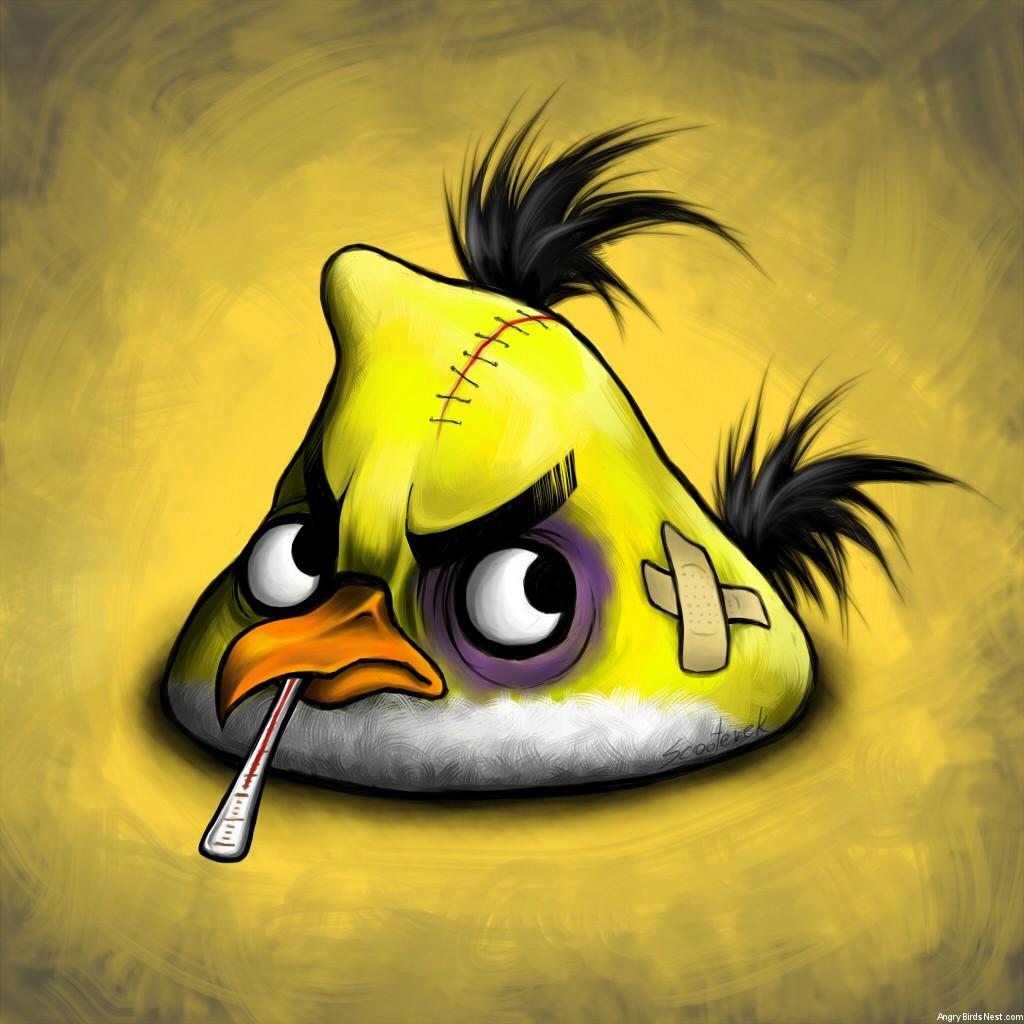 Yellow Bird by Scooterek