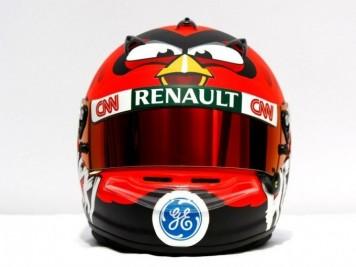 Angry Birds F1 Helmet