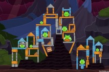 Angry Birds Facebook Surf and Turf Level 38 Walkthrough