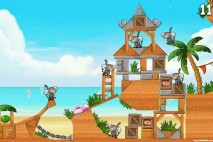 Angry Birds Rio Trophy Room Walkthrough Beachball Trophy