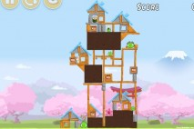 Angry Birds Fuji TV Sakura Ninja Level 1