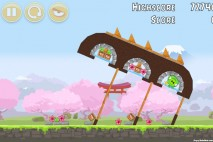 Angry Birds Fuji TV Sakura Ninja Level 11