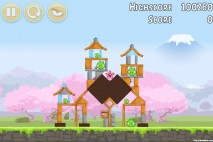 Angry Birds Fuji TV Sakura Ninja Level 2