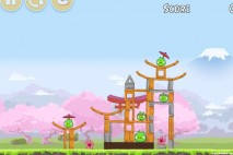 Angry Birds Fuji TV Sakura Ninja Level 3