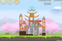 Angry Birds Fuji TV Sakura Ninja Level 5