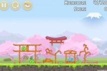 Angry Birds Fuji TV Sakura Ninja Level 6