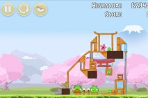 Angry Birds Fuji TV Sakura Ninja Level 8