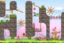Angry Birds Seasons Cherry Blossom Golden Egg #33 Walkthrough
