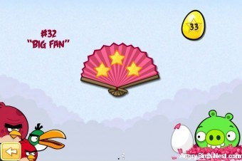 Angry Birds Seasons Cherry Blossom Golden Eggs Walkthroughs