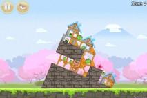 Angry Birds Seasons Cherry Blossom Level 1-1 Walkthrough