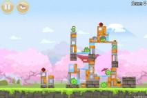 Angry Birds Seasons Cherry Blossom Level 1-10 Walkthrough